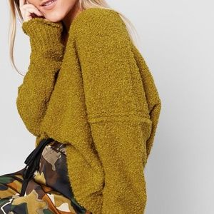 Free People Finders Keepers Sweater, Moss